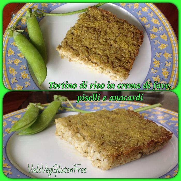 tortino riso fave piselli 1